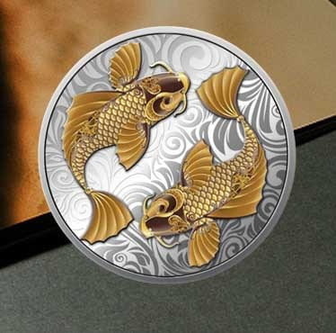 年会纪念章7-央富金币